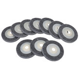 10pcs 100x12x16mm Angle Grinder Fiber Nylon Buffing Polishing Wheel Angle Grinding Sanding Disc