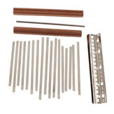 17 Key DIY Kalimba Daumen Klavier Finger Percussion Teile