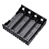 10pcs 4 Slots 18650 Battery Holder Plastic Case Storage Box for 4*3.7V 18650 Lithium Battery with 8Pin