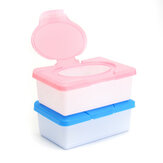Wet Tissue Box Plastic Case Real Tissue Case Baby Wipes Press Pop-up Design Home Tissue Holder Accessories