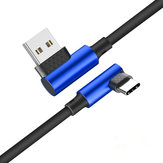 Bakeey 90 Degree Reversible 2.5A Type-C Fast Charging Data Cable For Samsung Xiaomi Huawei
