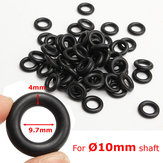 60Pcs 9.7x4mm Air Control Valve Seal O-Ring for Tyre Tire Changer Foot Pedal