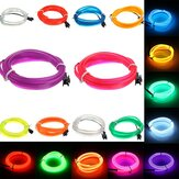 1 M Led Flexibele EL Draad Neon Glow Light Rope Strip 12V Voor Christmas Holiday Party