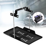 Universal Adjustable Metal Car Battery Tray Adjustable Hold Down Clamp Bracket Kit Cycle