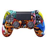 Data Frog Soft żel silikonowy gumowy pokrowiec na SONY Playstation4 pokrowiec ochronny na kontroler PS4 Pro Slim Gamepad