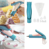 Tubi per glassa per pasticceria Borsa Punte per ugelli Torta fondente Penna per decorazione artigianale con zucchero Nuova decorazione per torta Strumenti per accessori da cucina