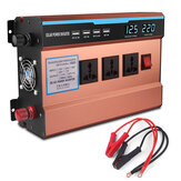 6000W Peak Solar Power Inverter DC 12V/24V To AC 220V Converter