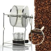 304 Нержавеющая сталь Ручная машина для обжарки кофейных зерен Roaster Ролик Baker Kitchen Baking Инструмент