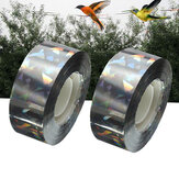 90M Fita dissuasora de pássaro Visual audível Flash Pigeon Scare Ribbon Decorative Tape