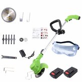 26V Electric Cordless Grass Trimmer Machine Kit Garden Rechargeable Stretchable Lawn