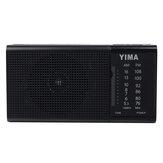 TaşınabilirAM530-1600KHzFMRadyo LED Flash Işık Hoparlör MP3 Çalar