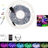 32.8/16.4FT 3528 RGB 300 LED Strip Light bluetooth Music Sound Activated+Remote