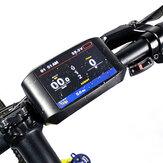BAFANG 750C 3.2 polegadas IPS HD Medidor de Motor de Bicicleta Elétrico LCD Exibição de Velocidade em Tempo de Quilometragem Digital para BBS01 BBS02 BBSHD