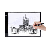 A4 LED Light Pad Zeichentablett Digitales Grafikpad Dreistufiges Dimmen USB LED Light Box Tischverfolgung Zeichenbrett Pad