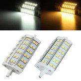 R7s 118 millimetri regolabile LED lampadina 8W 36 SMD 5050 bianco / bianco caldo della lampada AC85-265V mais proiettore