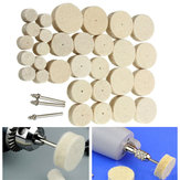 33pcs Wool Polishing Wheel Grinder Accessories for Rotary Tool