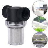 Filtre haut en ligne de pelouse d'écoulement de maille de crépine de pompe à eau de jardin d'irrigation 20 / 25mm