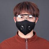 BIKIGHT Viso da ciclismo antipolvere unisex Maschera Respiratore a carbone attivo traspirante Maschera per la corsa in bicicletta