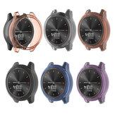 غطاء ساعة Bakeey مضاد للخدش ومضاد للصدمات شفاف Soft غطاء ساعة من البولي يوريثان الحراري لـ Garmin Vivomove 3 / Garmin Move3