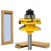 木製ツールビットのための8mmのすねのガラスドアの柵そしてStileのリバーシブルのルータービット切断の木製フライス