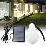 3W 120LM Zonne-energie LED-lamp Outdoor Camping Wandelen Tent Vissen Lamp