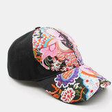 Γυναικείο αντηλιακό καπέλο καπέλο μόδας λουλούδι κέντημα καπέλο πάπια μπέιζμπολ