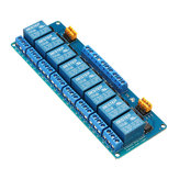 8 Channel 12V Relay Module High And Low Level Trigger BESTEP for Arduino - products that work with official Arduino boards