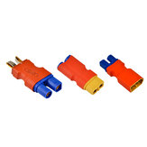 XT60 Male Female to EC3 Male Female Plug T Male do EC3 Female Plug Connector do modelu RC