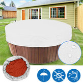 4 Sizes Bathtub Cover Shade Dust Cover Spa Covers Waterproof Hot Tub Weather Protector