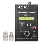 AW07A HF/VHF/UHF 160M Impedance SWR Antenna Analyzer Meter for Ham Radio Hobbyists