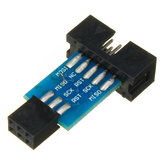 20pcs 10 Pin To 6 Pin Adapter Board Connector ISP Interface Converter AVR AVRISP USBASP STK500 Standard Geekcreit for Arduino - products that work with official Arduino boards