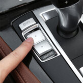 ABS Gear Shift Buttons Decorative Cover Trim For BMW 5 Series F10 F07 F18
