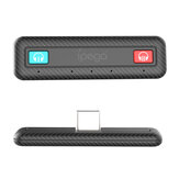 Ipega SW063 Bluetooth5.0 USB C Adapter Niedrige Latenz Dual Bluetooth 5.0 Audio Receiver Dongle Videokonverter Anschluss Für NS Switch / Switch Lite