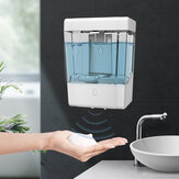 900ML Wall-Mounted Automatic Soap Dispenser IPX3 Waterpfoor Infrared Induction Liquid Dispenser for Bathroom Kitchen