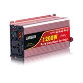 Inversor de energia de onda senoidal pura de tela inteligente 1200W-6000W DC para AC 110V 120V