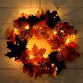 20LEDguirnaldadelafiestade Halloween Garland Light Home Hanging decoraciones adornos