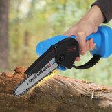 Электрическая цепная пила Аккумуляторный мини-резак по дереву 1200Вт Одноручная пила Деревообработка