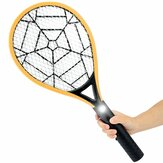 Electric Rechargeable Mosquito Swatter 3 Layer Mesh Mosquito Killer Hand Racket Pests Control with LED Light