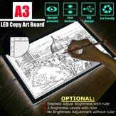 تتبع LED ضوء صندوق لوحة وشم فني A3 لوحة رسم استنسل طاولة عرض