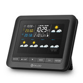 DIGOO DG-TH8805 Wireless Five Day Forcast Version Weather Station Full-Color Screen Digital USB Outdoor Barometric Pressure Hygrometer Humidity Thermometer Temperature with Outdoor Sensor Clock