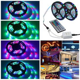 3M 5M 10M 3528 SMD RGB LED Strip Light Non-waterproof String Tape Kit+44 Key IR Remote Control