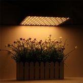225LED élèvent la lumière chaude et blanche lampe ultra-mince panneau hydroponique plantes d'intérieur Veg fleur AC85-265V