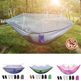 Camping Hammock Mosquito Net Double People Hanging Bed Travel Beach Hiking Swing Chair