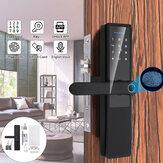 Impronta digitale elettronica in lega di alluminio 5V serratura Smart serratura Porta serratura Porta antifurto camera da letto serratura Password serratura