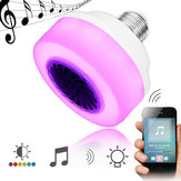 E27 5W LED Lampadina da palco senza fili Bluetooth Music Play Speaker AC100-240V