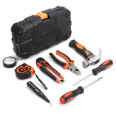9Pcs Multifuntional Woodworking Ferramentas Domésticas Kit Set SteelKits Hardware Toolbox