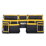 Multi-functional Oxford Cloth Electrician Tools Bag Waist Belt Storage Holder Organizer
