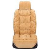 Универсальный плюшевый чехол для сиденья Авто Зимняя теплая спинка Подушка переднего сиденья