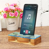 Universal Bamboo Sound Amplifier Desktop Holder for Xiaomi Mobile Phone Under 6.0 inches Non-original