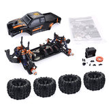 ZD Racing MT8 Pirates3 1/8 4WD 90 km / h Sin escobillas RC Coche Kit sin componentes electrónicos